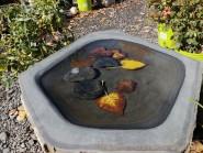 Basalt Birdbath