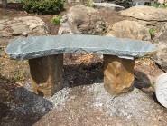 Boulder Bench curved