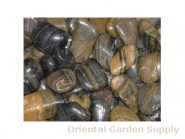 Polished Pebble-Striped 1 1/2 - 2 1/2 inch
